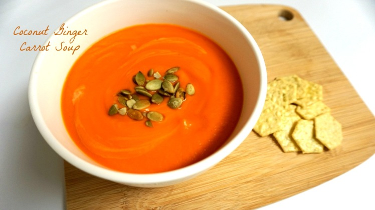 coco ging carrot soup